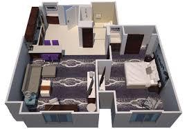 in suite floor plans suite living at the l a live suites