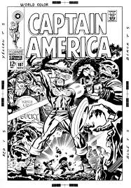 jack kirby quote captain america 107 after jack kirby and frank giacoia in don