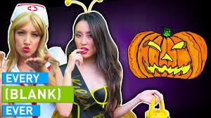 every halloween ever youtube