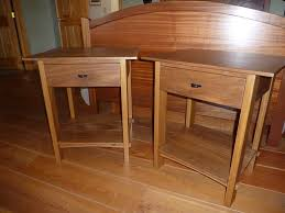 build cherry bedside table woodworking plan diy studio desk plans