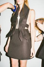 backstage at jean pierre braganza at london fashion week ss2015