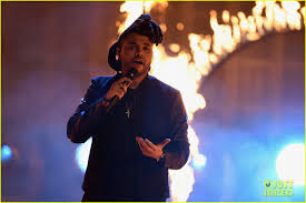 the weeknd sets the amas 2015 on fire with u0027the hills u0027 video