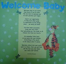 welcome baby poem n book by whitebunnierabbit on deviantart