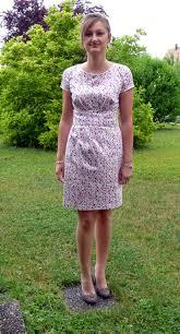 robe en dessous des genoux robe à pois coccinette