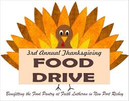 3rd annual thanksgiving food drive suncoast browns backers