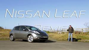 nissan leaf b mode the nissan leaf full test review youtube