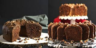 peanut butter cup chocolate pound cake