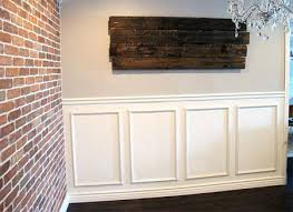 panelled walls home dzine home diy the easy way to install panelling