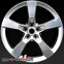 stock camaro rims 20 chevy camaro wheels oem 10 14 fr polished rims 5443