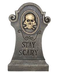 spirit halloween sacramento stay scary 26 inch tombstone holiday halloween pinterest