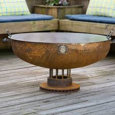 Firepit Lid 36 Handcrafted Pit Snuffer Lid S S Pits Our Steel