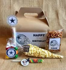 football party favors dallas cowboys birthday party favors and box football party
