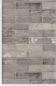 panneau fausse brique papier peint effet brique gri lutèce papier peint chambre