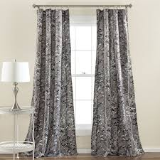 amazon com lush decor forest window curtain panel set of 2 84