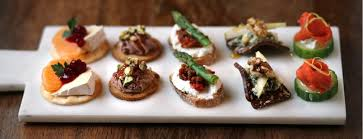 canape panama in our backyard whip up a platter with canapés