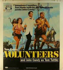 Volunteers 42995163469 VR  Side 1  CED Title  Bluray DVD