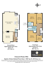 Halliwell Manor Floor Plan by 4 Bed Property For Sale In Crescent Road Reigate Rh2 43696435