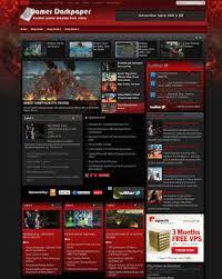 2 super magazine template blogger with automatic slider blogger