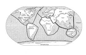 Map Of The 7 Continents Map Room Frederick C Corney