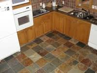 slate kitchen floor heated heated kitchen flooring kitchen