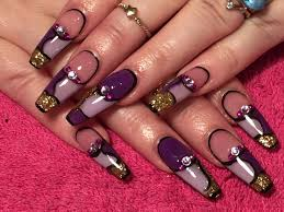 breathtaking top 30 killer coffin shaped nails art designs gallery