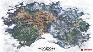 What Is A World Map by Check Out The Incredible Leaked World Map For Horizon Zero Dawn