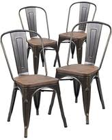 Tolix Dining Chairs Sweet Deal On Merax Indoor Outdoor Use Tolix Style Distressed