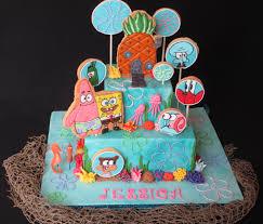 spongebob cake toppers spongebob cookie pops cake dolce ladybug