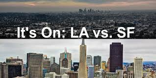 los angeles vs san francisco which city rules the west coast