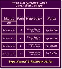 Javan Bed Canopy Galeri Kelambu Lipat Kelambu Ku Twitter