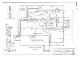 Architectural Plan Rocbo Architectural Drawing By Wooster Bard Field