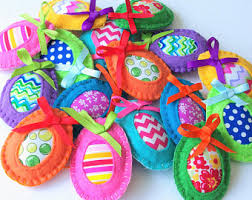 easter ornaments easter tree etsy