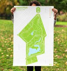 Prospect Park Map Brand New New Logo And Identity For Prospect Park Alliance By Ocd
