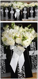 black and white centerpieces black and white centerpieces ideas in blume