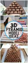 3d pyramid model project ideas pyramid model sandwich box and