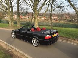 bmw 330ci manual convertible individual red leathers 19
