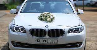bmw car rental wedding will be luxurious with a bmw wedding cars in kerala