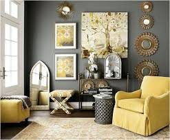 grey and yellow living room decorating with yellow walls living room coma frique studio