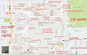 Iowa State University Map The Judgmental Map Of Syracuse Universitythe Black Sheep