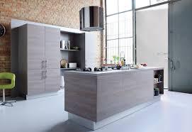 cuisine bois gris moderne cuisine moderne grise et bois photos de design d int rieur gris
