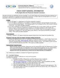 Complete Resume Example by Sample Physician Assistant Resume Resume For Your Job Application
