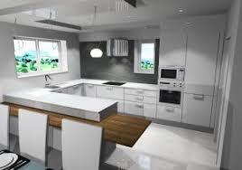 cuisine blanche ouverte sur salon cuisine en u ouverte sur salon grand cuisine blanche ouverte sur