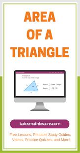Area Formula by The 25 Best Triangle Formula Area Ideas On Pinterest