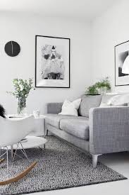 Gray Couch Ideas by Superb Monochromatic Living Room Cream Decorating Ideas Grey Plaid