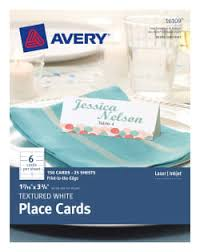 tent u0026 place cards avery com