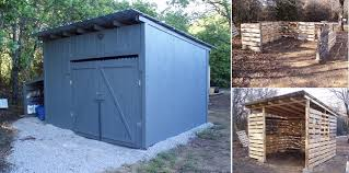 How To Build A Rabbit Hutch Out Of Pallets 10 Free Plans To Build A Shed From Recycle Pallet The Self