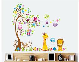 ravishing bird animal nursery decal removable wall sticker vinyl