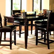 Round Dining Room Table Sets by Tall Dining Room Table Chairs With 9pc Square Counter Height 8