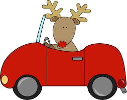 reindeer car reindeer driving a car clip reindeer driving a car image