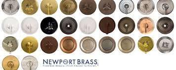 Bathroom Faucets Colors New Newport Brass Kitchen Faucets 100 Images Bathroom Fixture Finishes